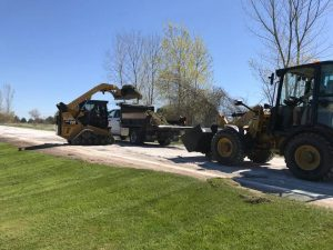 Private Road Maintenance and Excavation by McDonald Property Services of Vermont