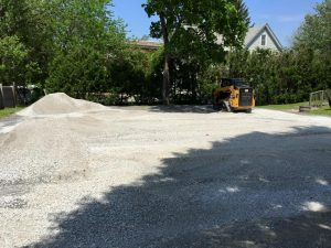Stone Delivery and Spreading in St Albans by McDonald Property Services
