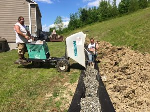 Water Runoff Mitigation Franklin County Vermont by McDonald Property Services