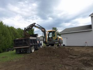 Yard Grading in Vermont McDonald Property Services